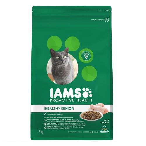 Iams Healthy Senior 7+ with Chicken 3kg