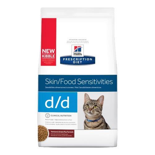 Hills Prescription Diet d/d Skin and Food Sensitivities Dry Cat...
