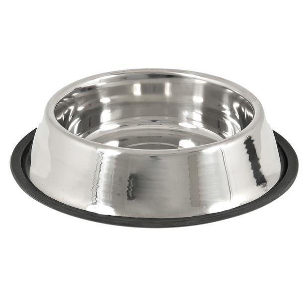 Petmate Stainless Steel Anti Skid Bowl Each