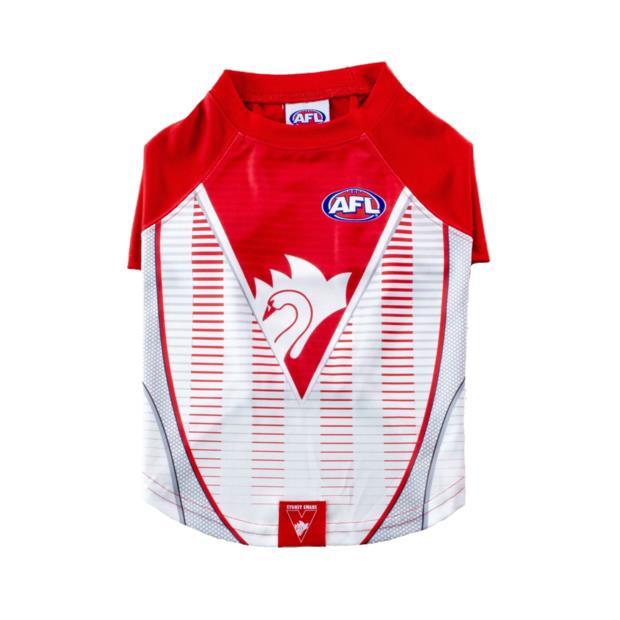 AFL Dog Tshirt Sydney Swans