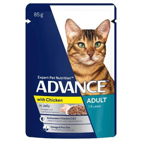 Advance Adult Chicken in Jelly 12x85g